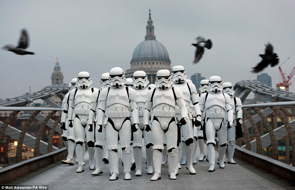 Don't mess with the Stormtroopers