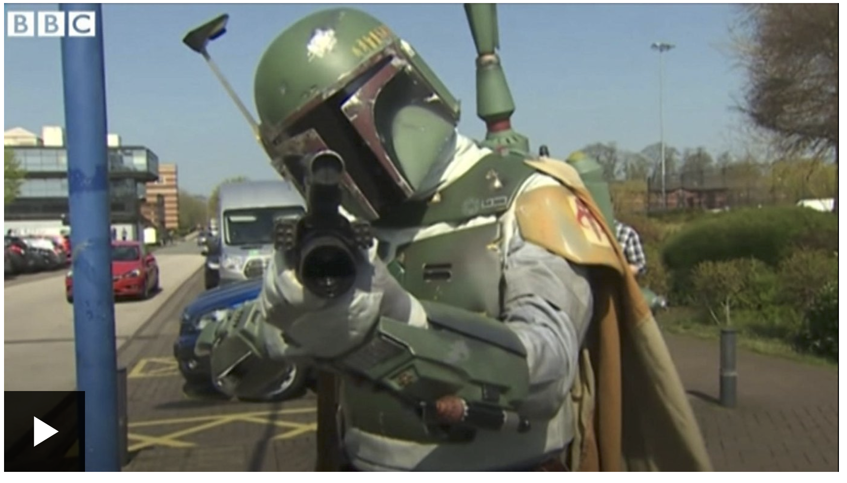 BBCTV Wales Comicon Screenshot