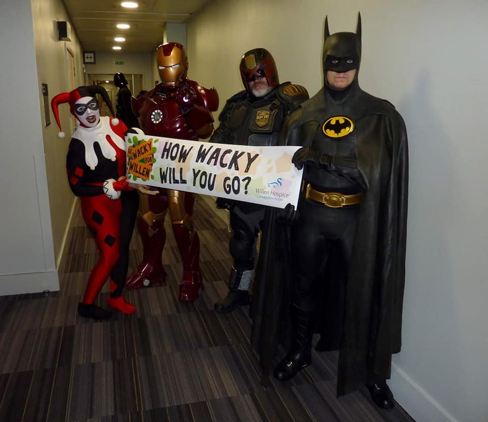 UK Garrison go Wacky for Wacky For Willen Hospice