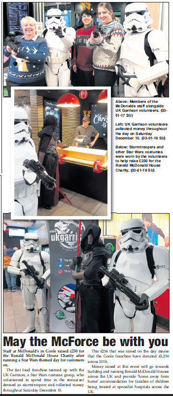 UK Garrison in Goole