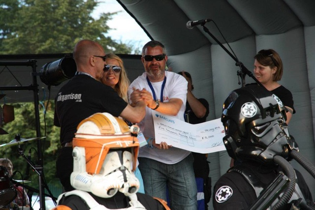 UKG fundraising at a Harley Staples Cancer Trust event