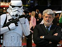 George Lucas at Leicester Square