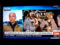 UK Garrison CO interviewed on CNN International