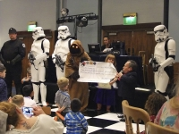 Little People UK cheque presentation