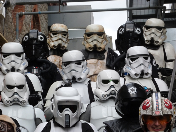 The UK Garrison at MCM Ireland Comic Con photo gallery