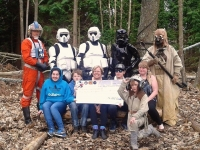 Challenge and Adventure, Isle of Wight, receive £2000 from the UKG VRS