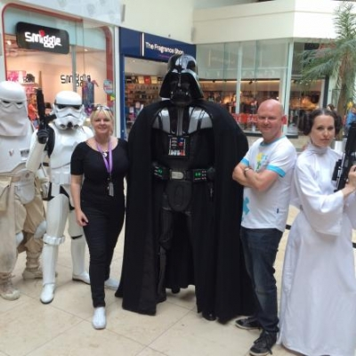 Ark Cancer Centre Charity the beneficiary of Star Wars event in Festival Place
