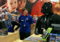 Luton feels the Force of Star Wars as Vader terrorises town (video)