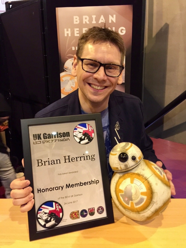 Honorary Member of the UKG, Brian Herring