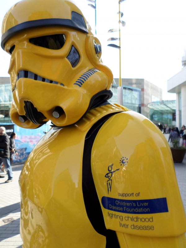 The Yellow Stormtrooper